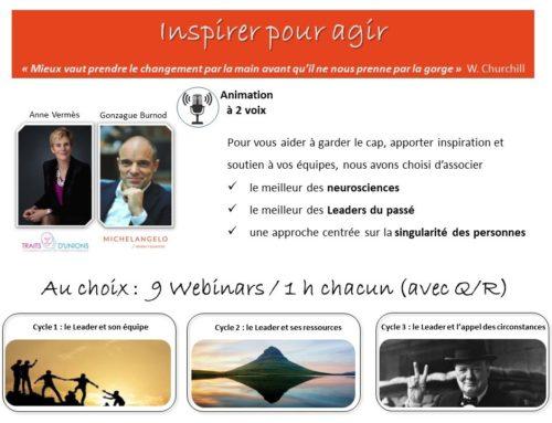 Webinars «Inspirer pour Agir»